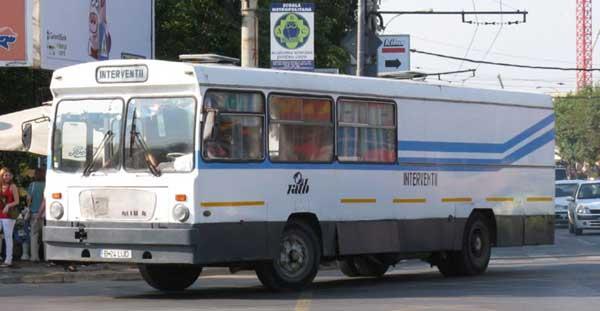 Autobuzul IK4 - 3