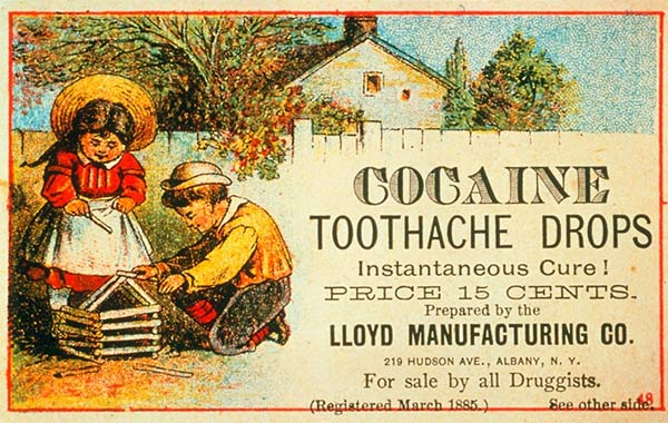 Toothache-drops