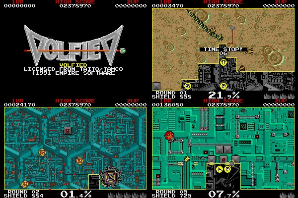 Volfied 1 (Volfiev) Taito - 1991 Empire Software