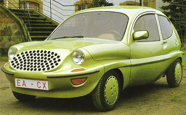 Wolkswagen-Colani-Prototype