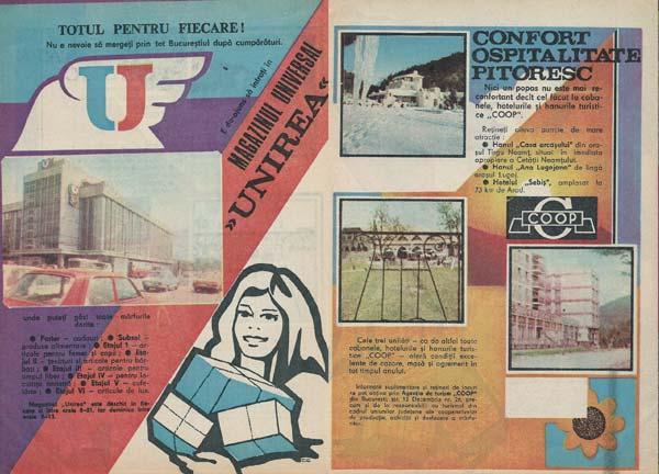 Magazinul Universal Unirea, Agenţia de turism COOP Bucureşti