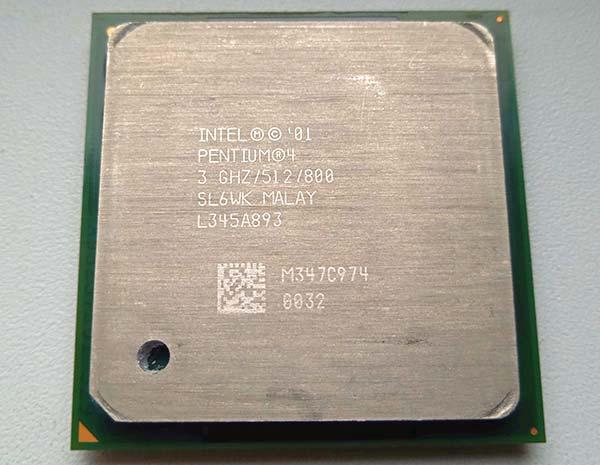 Intel Pentium 4 745 3GHz HT