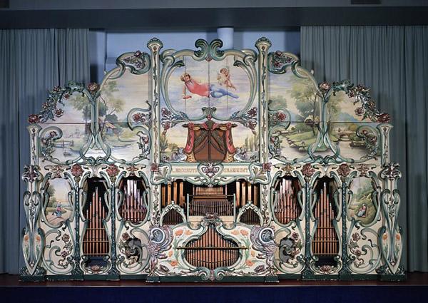 Orga de dans Hooghuys 1913