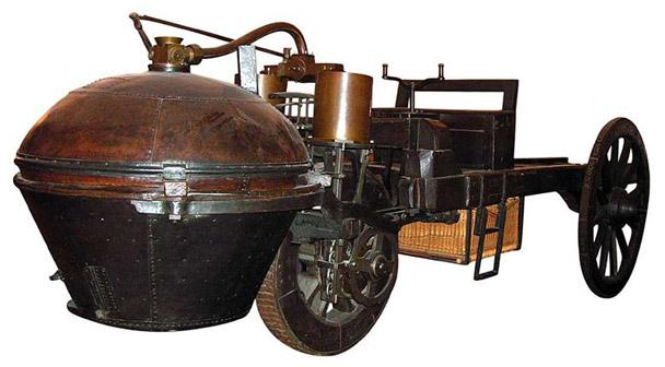 Vehicul Cugnot 3
